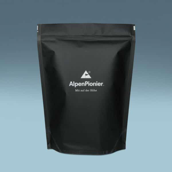 HanfLebensmittel in der 1kg Verpackung. Von AlpenPionier.