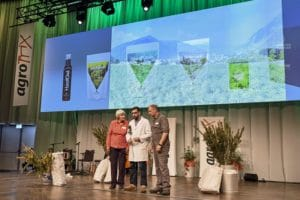 Die AlpenPionier auf der Bühne des AgroPreis 2018
