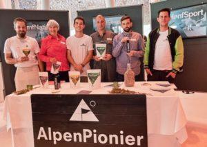 Präsentationsstand von AlpenPionier am AgroPreis 2018