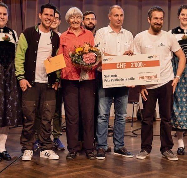 Preisübergabe an AlpenPionier am AgroPreis 2018