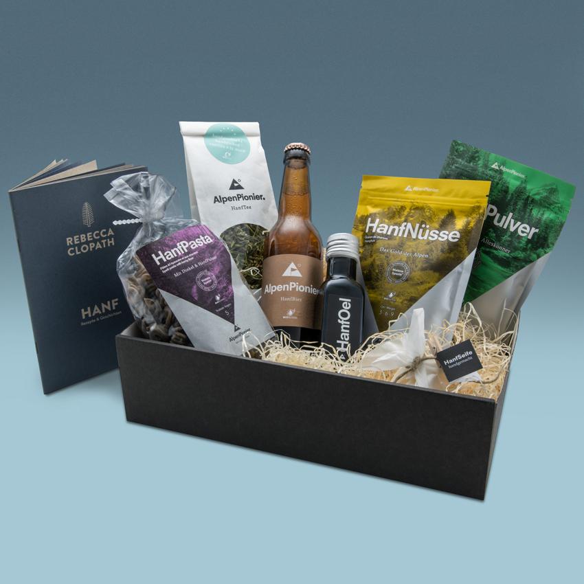 Geschenkpaket Gourmet von AlpenPionier